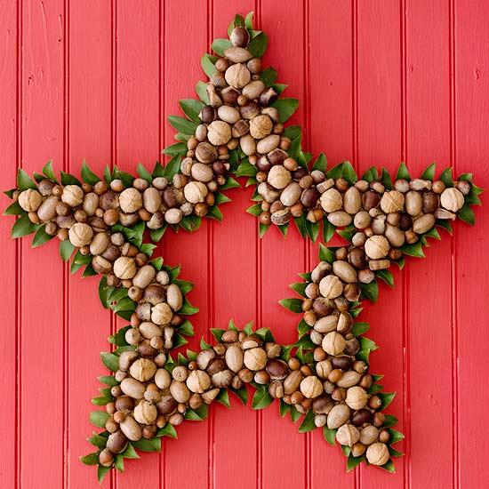 Estrella de frutos secos