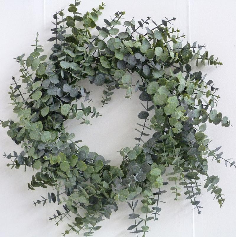 Corona de eucalipto