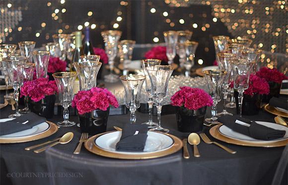 Mesas para fin de a o for Table design for new year
