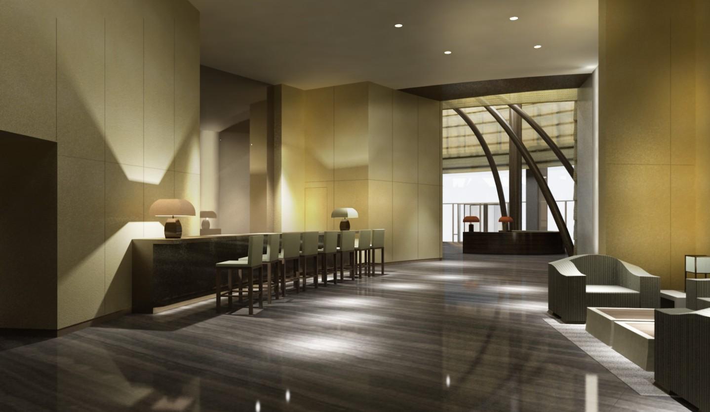 Decoraci n dise adores de moda for Diseno de lobby de hoteles