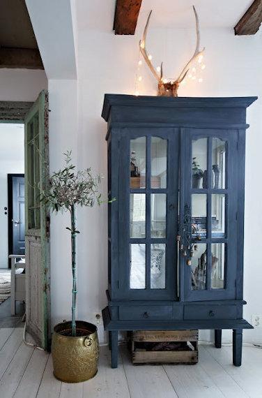 Azul vintage