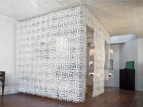 Celosías decorativas para separar estancias