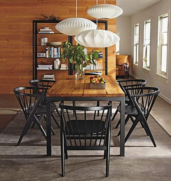 Black Rustic Dining Room Chairs Download Free