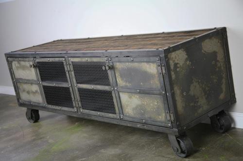 Muebles para tv for Mueble vintage industrial