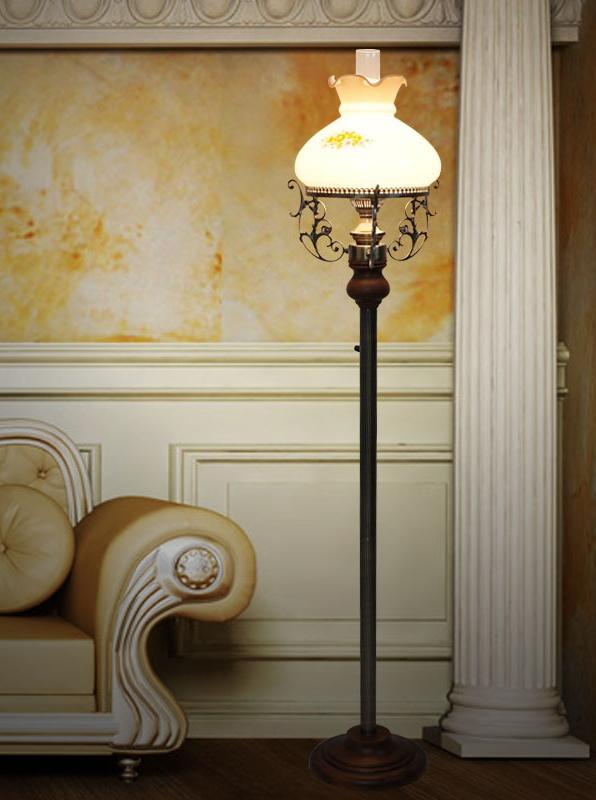 10 l mparas de pie originales - Como hacer una lampara de pie ...