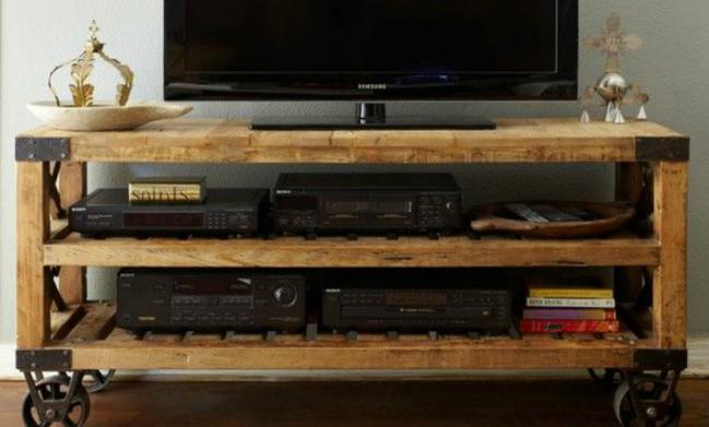 Muebles para tv for Muebles para tv con ruedas