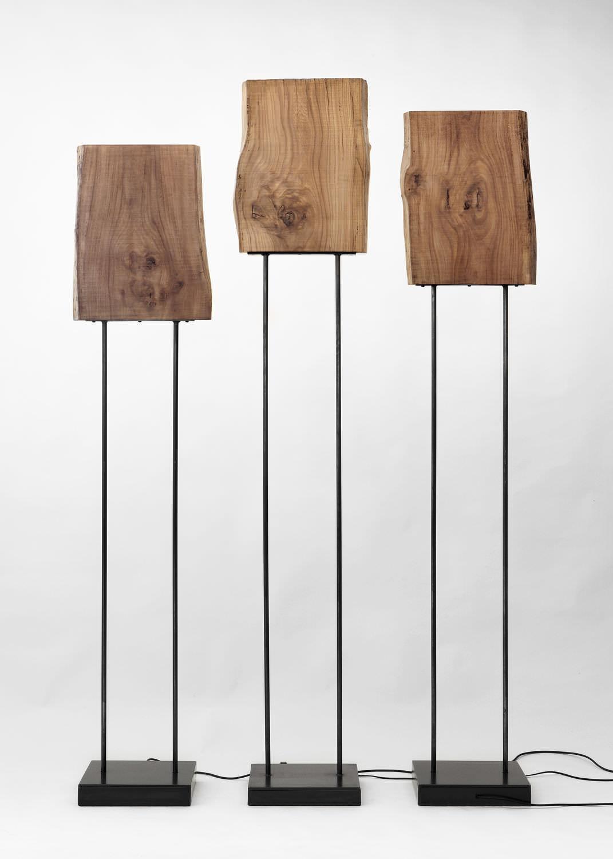 10 l mparas de pie originales - Lampara de pie madera ...