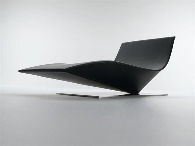 Chaise longue de diseño futurista