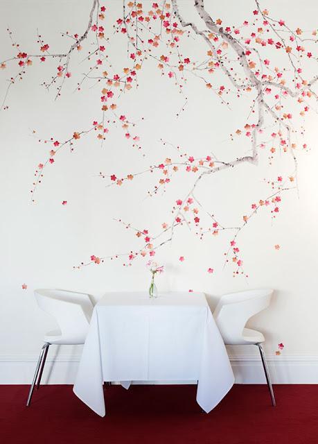 Papel pintado para vestir tus paredes te atreves for Papel pintado oriental