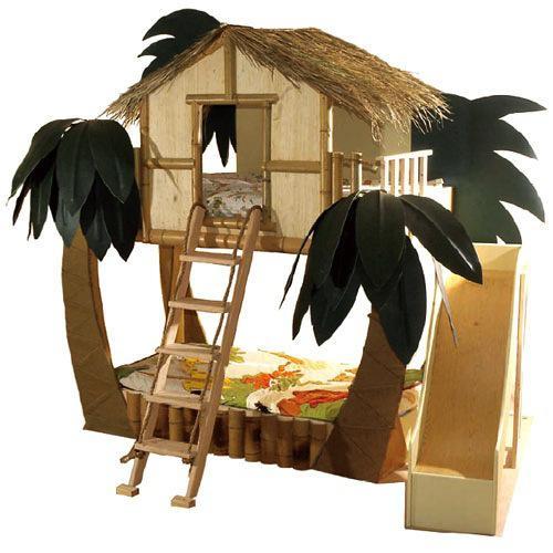 Habitación infantil, con isla propia