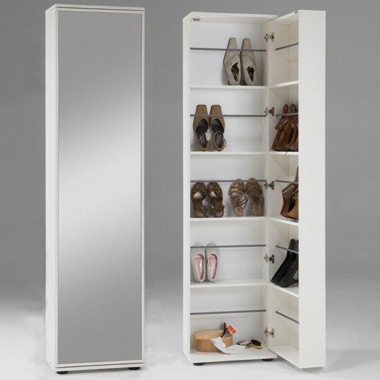 Zapateros o como ahorrar espacio for Mueble para zapatos con espejo