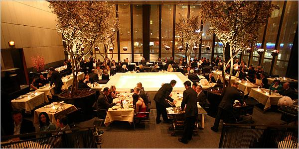 Restaurante del Four Seasons de NewYork
