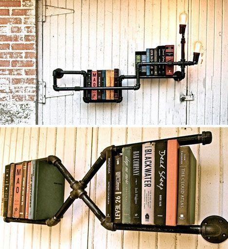Librerías con y sin luz incorporada.