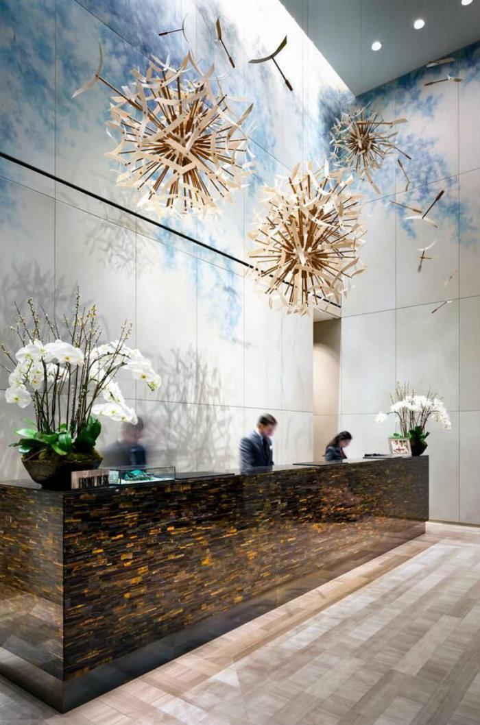 Los 21 lobbys m s espectaculares del mundo for Top hotel decor