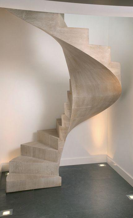 Escaleras de impactantes dise os - Escalera en espiral ...