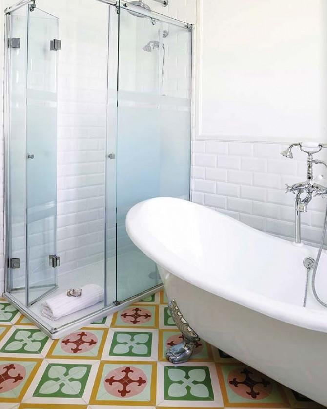 Baldosas Hidráulicas Baño:Suelos Hidráulicos, Vintage Y Muy De Moda