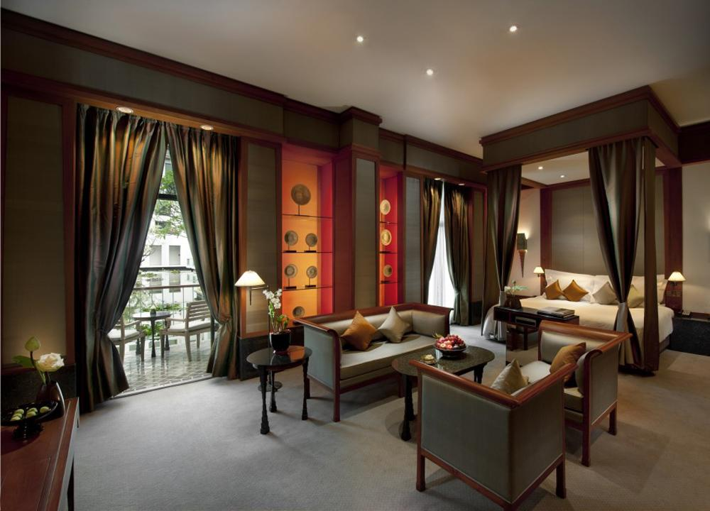 El Hotel Sukhothai Garden de Bangkok.