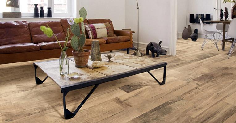 suelo de imitacin madera estilo rstico