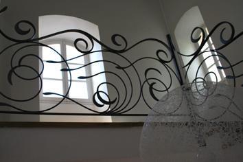 Original y moderno diseño de hierro.