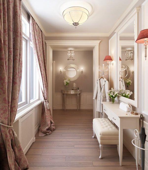 Habitaciones de estilo vintage franc s - Cortinas estilo vintage ...