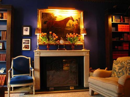 dark blue living rooms te ayudamos a elegir los colores de tus paredes decorar net 16723