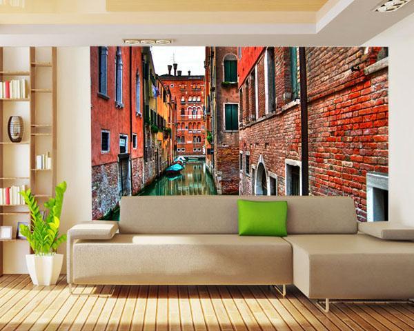 Fotomural salon con venecia - Murales para salon ...