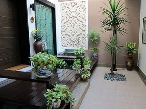 Crea en el jard n un rinc n con un encanto especial for Courtyard designs sri lanka