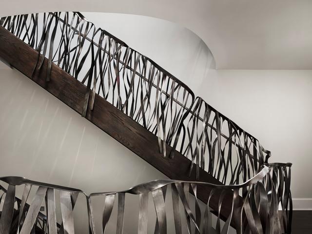 Un moderno diseño de hierro.
