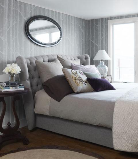 Dormitorios sue os en gris for Dormitorios pintados de gris