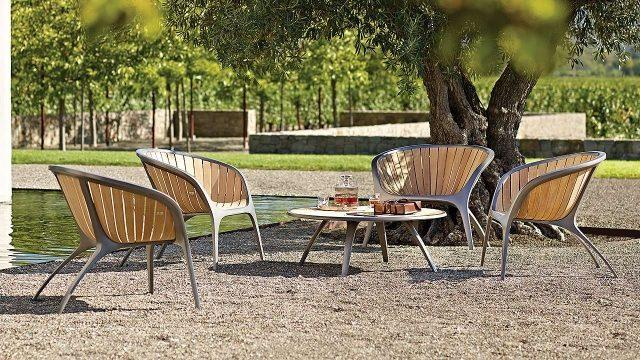 Muebles de jardín, diseño de exterior.   Decorar.net