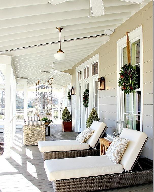 Ideas para decorar el porche. | Decorar.net