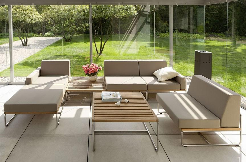 Muebles de jardín, diseño de exterior. | Decorar.net