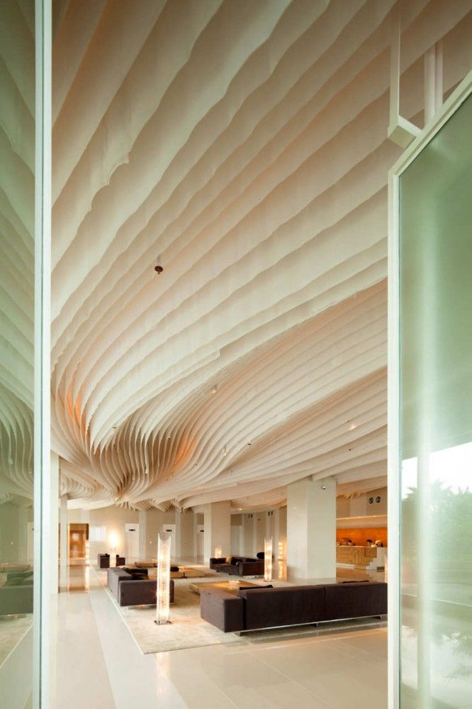 11 incre bles estructuras arquitect nicas - Telas para techos ...