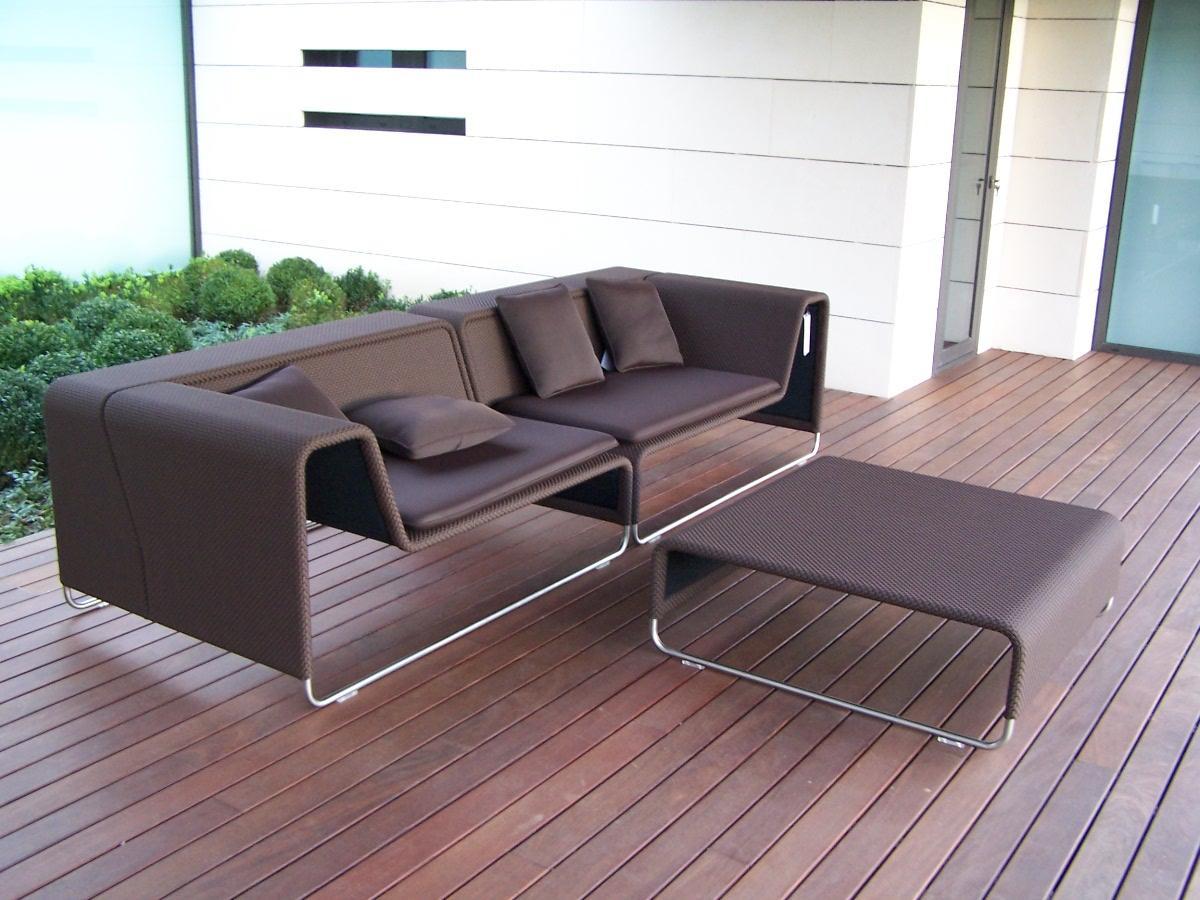 Muebles de jard n dise o de exterior for Diseno de muebles metalicos pdf