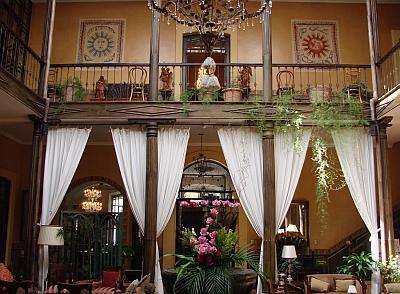Espectacular espacio en un hotel de Cuenca.