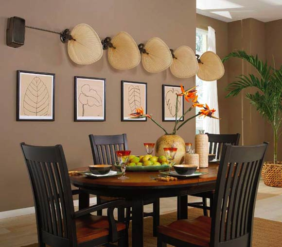 Ventiladores de techo de estilo colonial - Home decorating ideas clever and wacky solutions ...