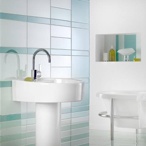 johnson tiles bathroom design azulejos de cristal brillo y sofisticaci 243 n decorar net 18952