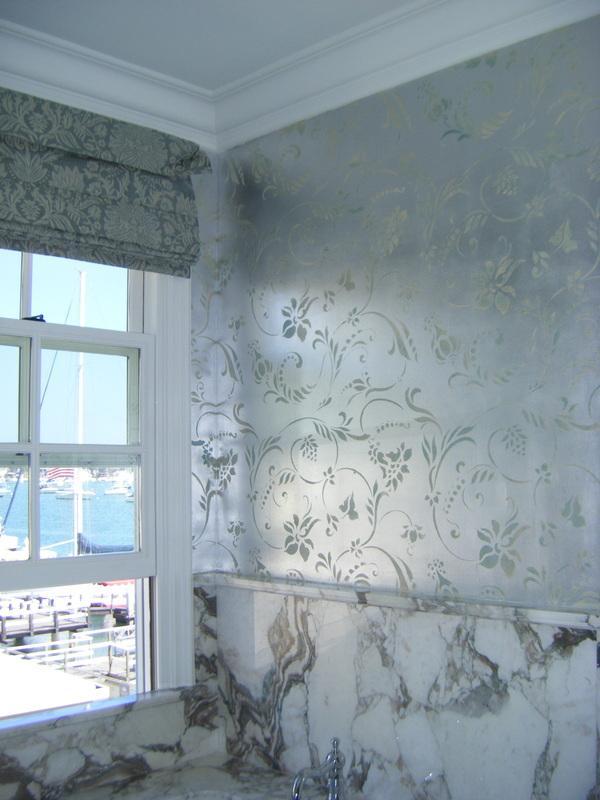 Plata para las paredes - Papel pintado bano ...