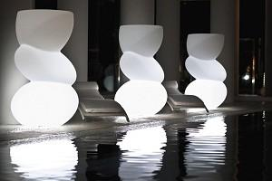 Iluminación-exterior-lámparas-de-pie-estilo-decoración