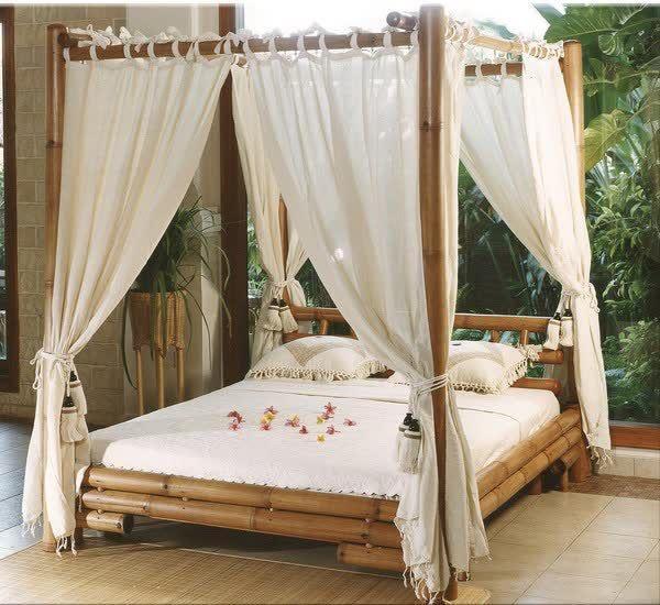 Mobiliario De Bambú Para El Interior Decorar Net