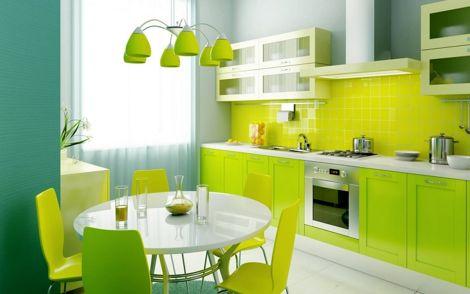 Cocinas Modernas Viva El Color Decorarnet