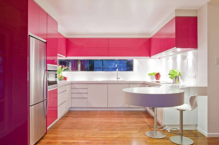 Cocinas modernas, viva el color. | Decorar.net