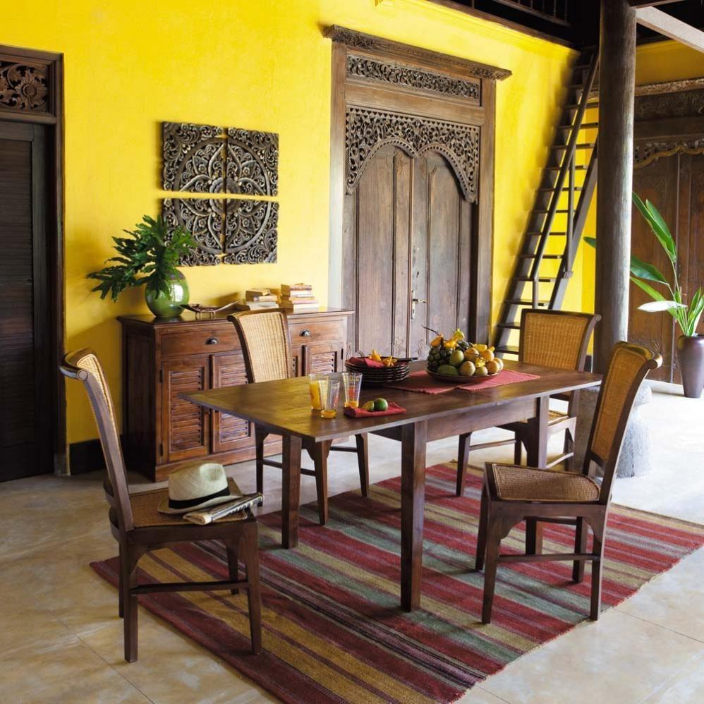 12 ambientes coloniales - Lamparas estilo colonial ...