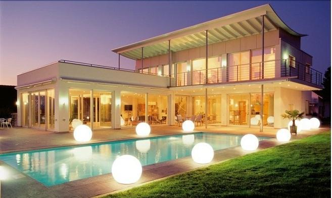 Iluminaci n de jard n for Luces para exterior de casa
