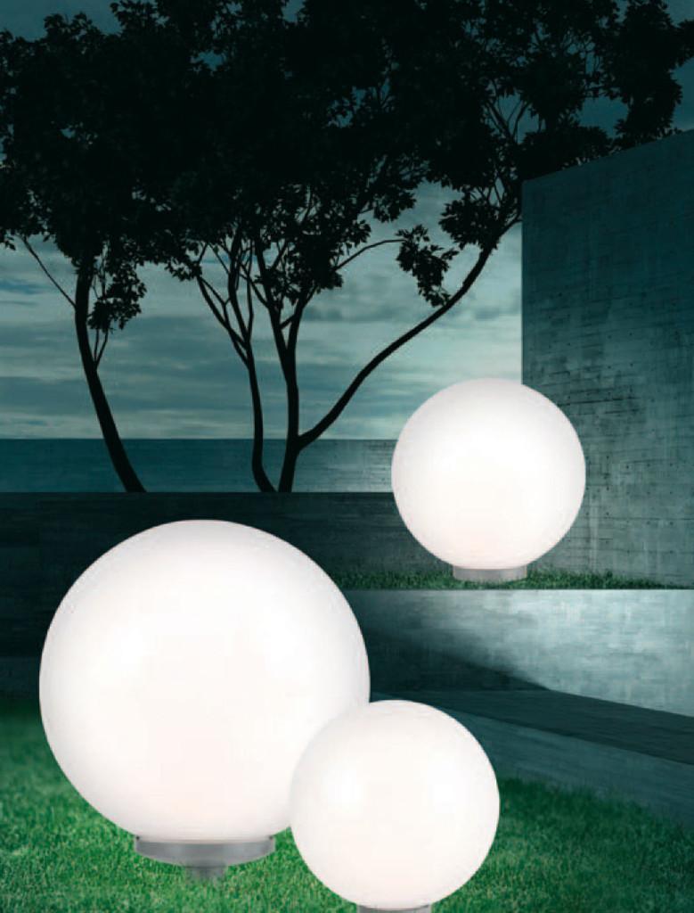 Esferas de distintos tamaños.