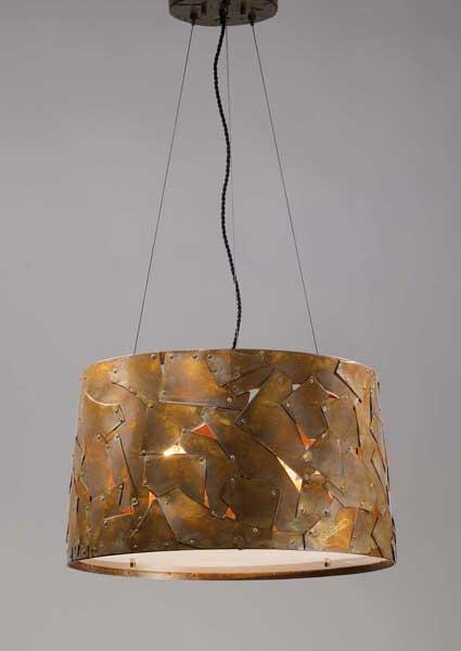 14 l mparas industriales la c lida dureza - Como hacer lamparas rusticas ...