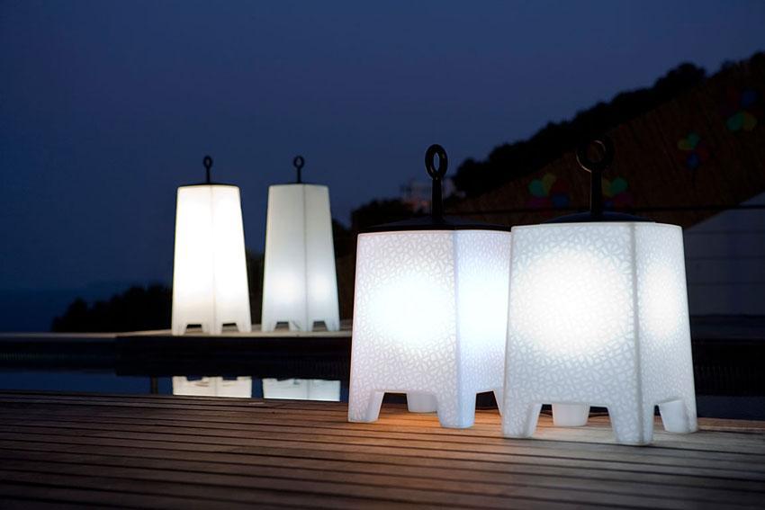 Iluminaci n de jard n for Lamparas para iluminacion exterior