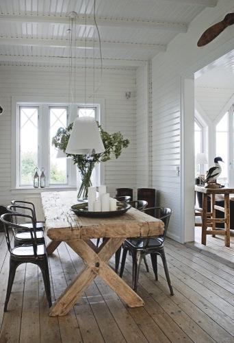 Muebles de madera lavada. | Decorar.net