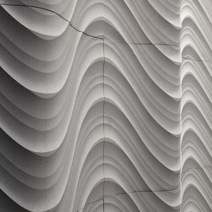 Texturas 3d en las paredes - Planchas de yeso ...