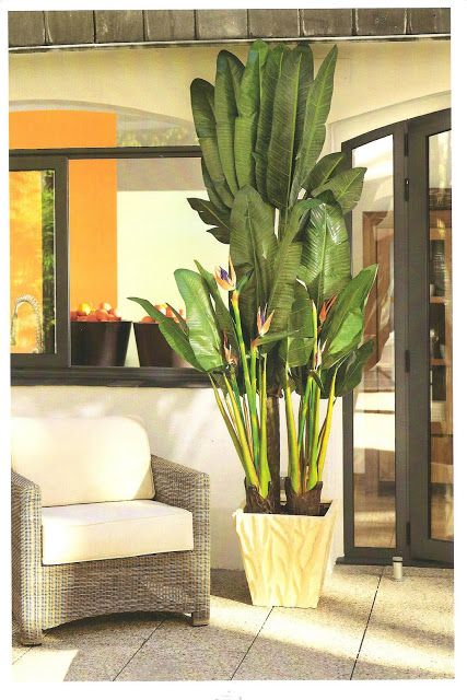 Decorar con plantas artificiales for Palmeras decorativas exterior
